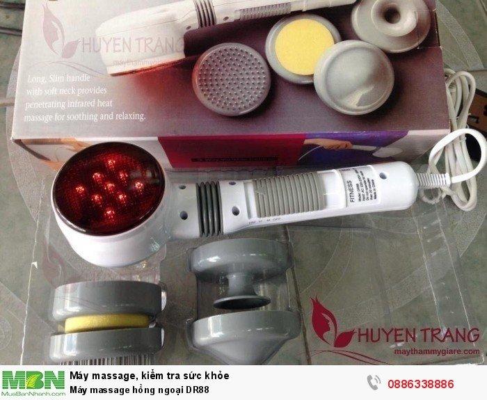 Máy massage hồng ngoại DR881