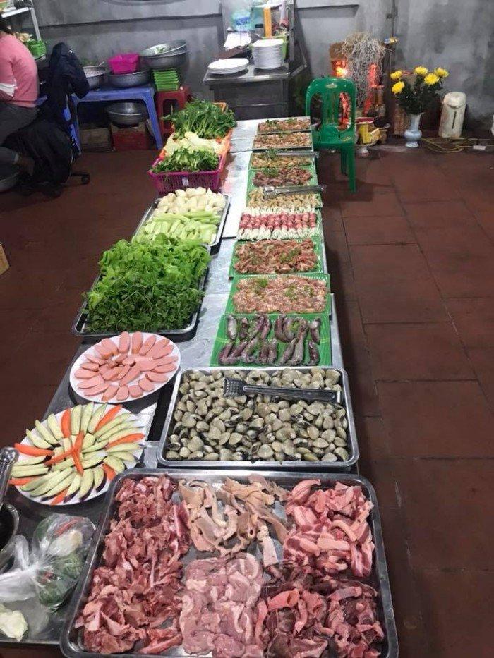 Sang nhượng quán ăn đường Vành Đai, Trâu Qùy. 100m