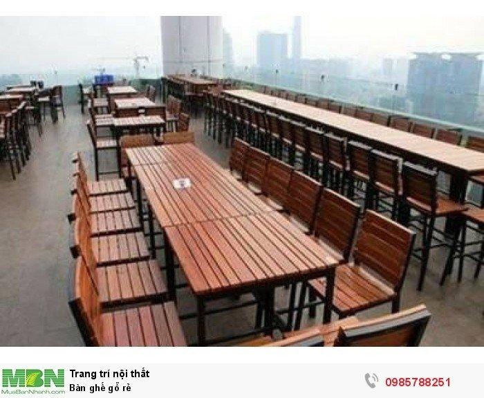 Bàn ghế gỗ rẻ1