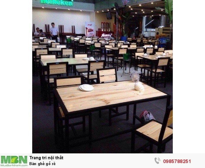 Bàn ghế gỗ rẻ2