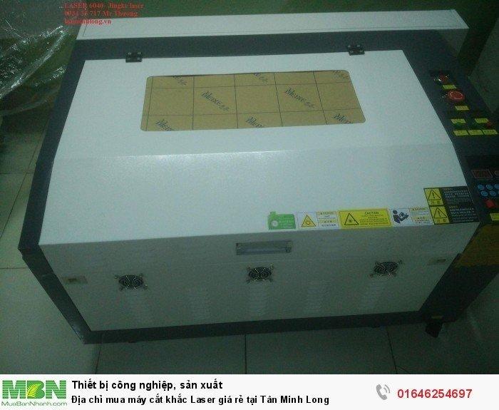 Địa chỉ mua máy cắt khắc Laser giá rẻ tại Tân Minh Long