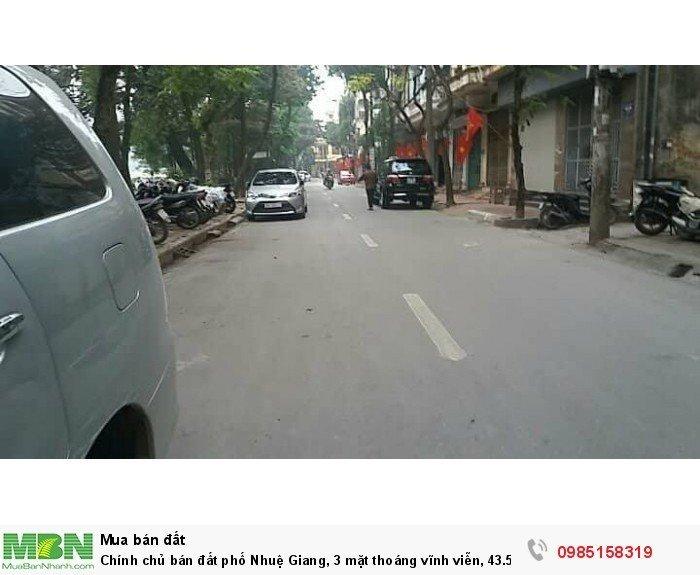Chính chủ bán đất phố Nhuệ Giang, 3 mặt thoáng vĩnh viễn, 43.5m2, mt 6m, KD SẦM UẤT