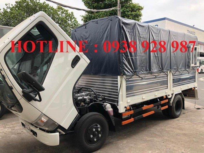 Bán xe tải Mitsubishi Fuso Canter 4.7 thùng mui bạt tải trọng 1.9 tấn ở TP. Hồ Chí Minh 4