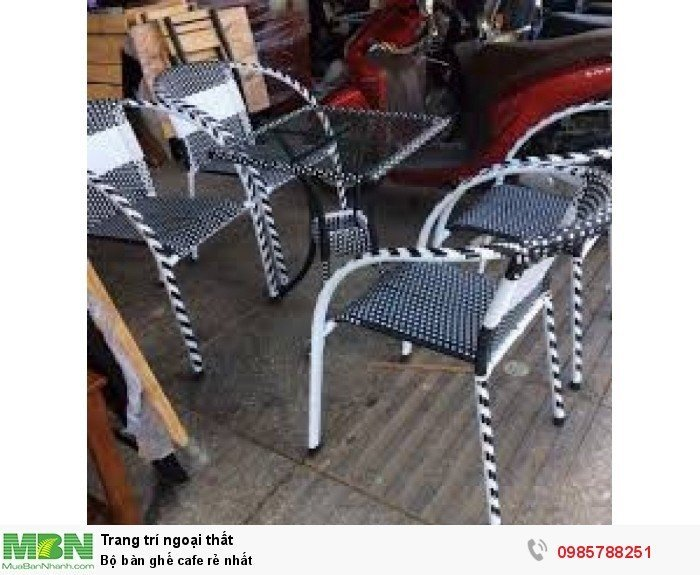 Bộ bàn ghế cafe rẻ nhất1