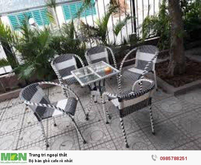Bộ bàn ghế cafe rẻ nhất3