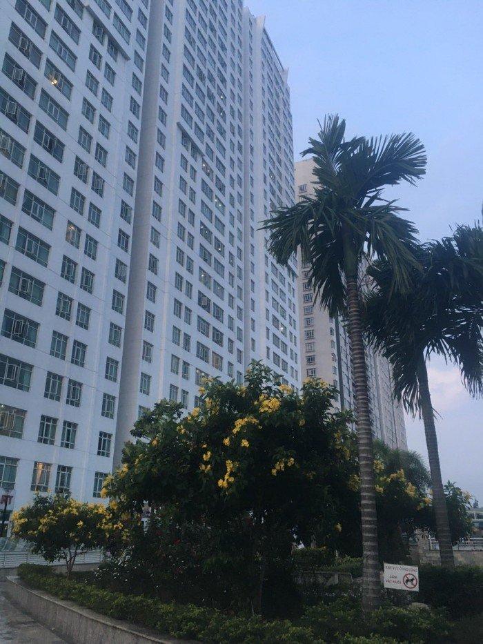 Cho thuê chung cư Giai Việt Q.8 dt 115m, 2 PN, 13tr/th, đầy đủ nội thất.
