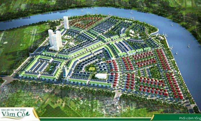 Đất biệt thự 220m2 trung tâm TP Tân An, đã có sổ đỏ, đường trải nhựa