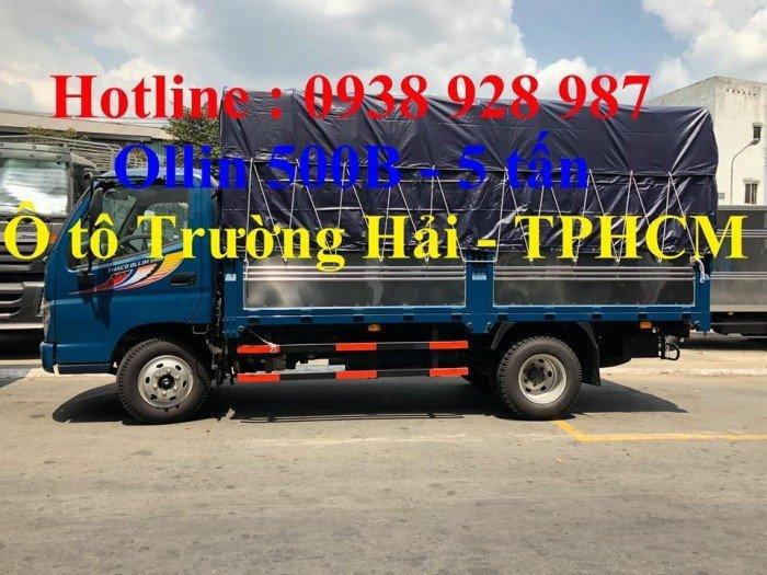 Bán Xe tải Thaco Ollin 500B tải trọng 5 tấn, thùng dài 4m25, thùng mui bạt ở TP. Hồ Chí Minh 6
