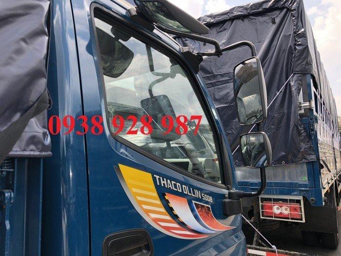 Bán Xe tải Thaco Ollin 500B tải trọng 5 tấn, thùng dài 4m25, thùng mui bạt ở TP. Hồ Chí Minh 4