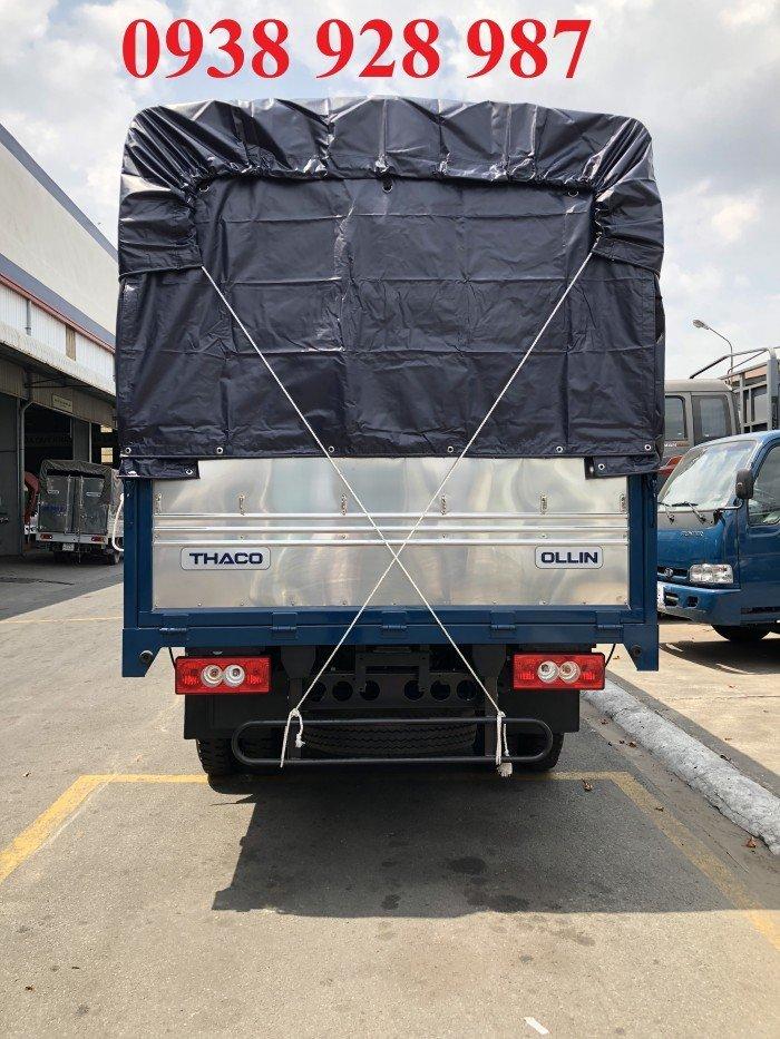 Bán Xe tải Thaco Ollin 500B tải trọng 5 tấn, thùng dài 4m25, thùng mui bạt ở TP. Hồ Chí Minh 0