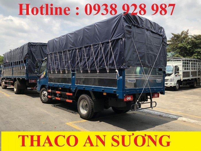 Bán Xe tải Thaco Ollin 500B tải trọng 5 tấn, thùng dài 4m25, thùng mui bạt ở TP. Hồ Chí Minh 2