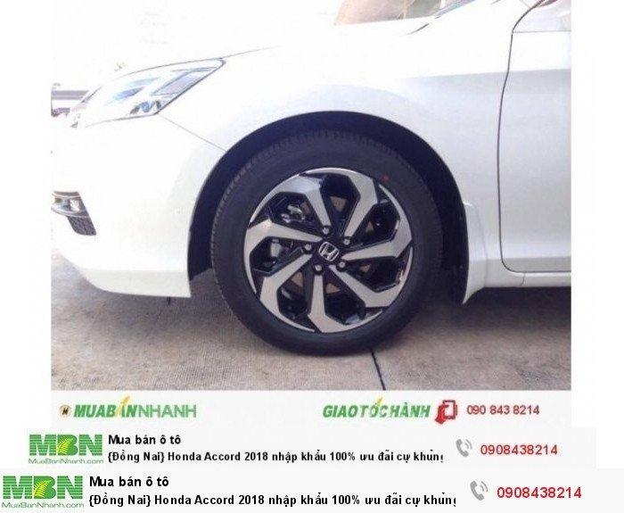 {Đồng Nai} Honda Accord 2018 nhập khẩu 100% ưu đãi cự khủng tại Honda Ô tô Biên Hoà 2