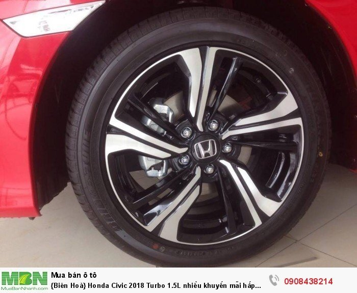 {Biên Hoà} Honda Civic 2018 Turbo 1.5L nhiều khuyến mãi hấp dẫn 2