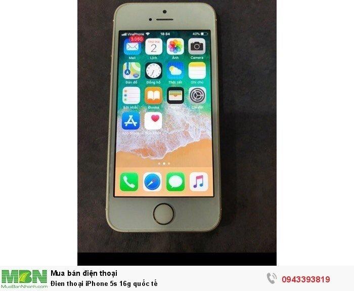 Đien thoại iPhone 5s 16g quốc tế2