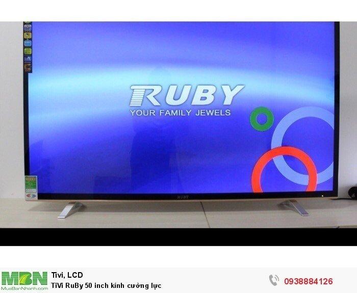 TiVi RuBy 50 inch kính cường lực3