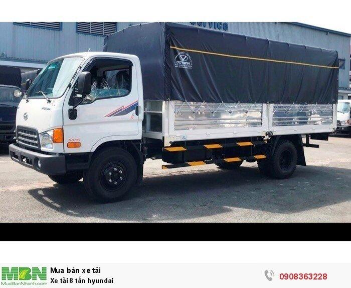 Xe tải 8 tấn hyundai