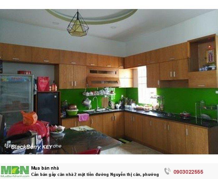 Cần bán gấp căn nhà 2 mặt tiền đường Nguyễn thị căn, phường. Tân thới hiệp, q.12