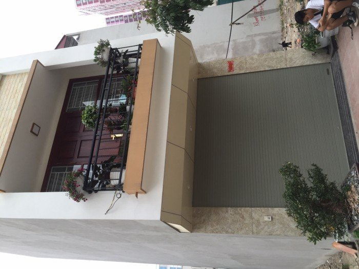 Bán nhà xây mới Văn Khê, sau Siêu thị Đức Thành DT55m2*5T