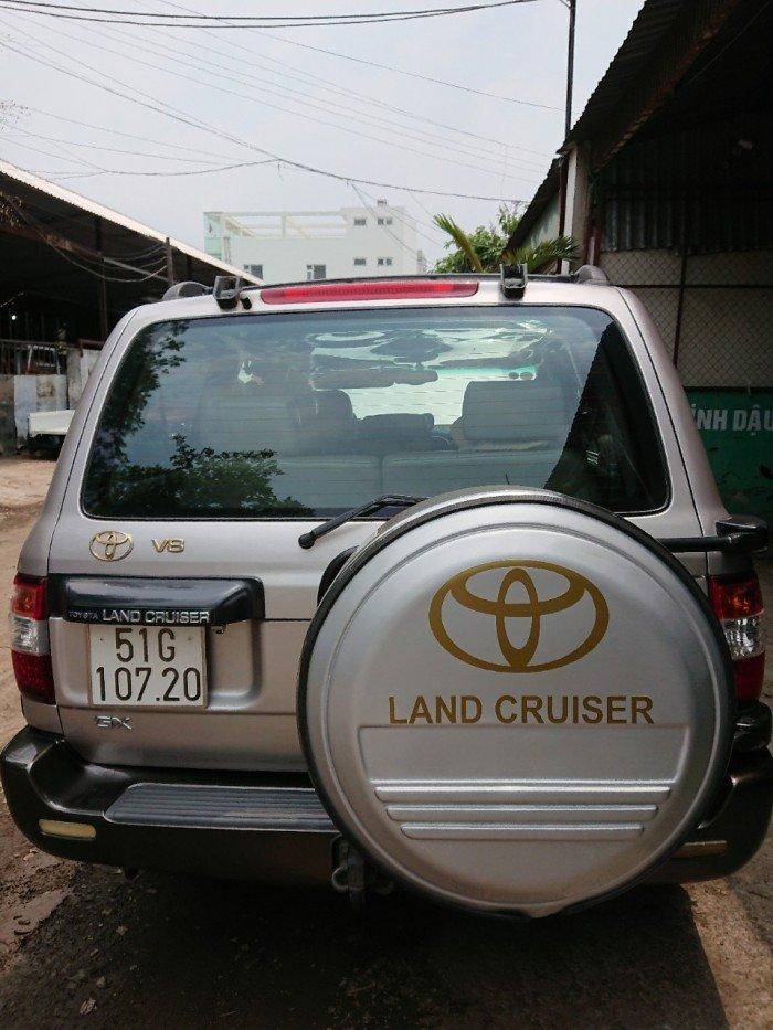 Toyota Land Cruiser sản xuất năm 2000 Số tay (số sàn) Động cơ Xăng