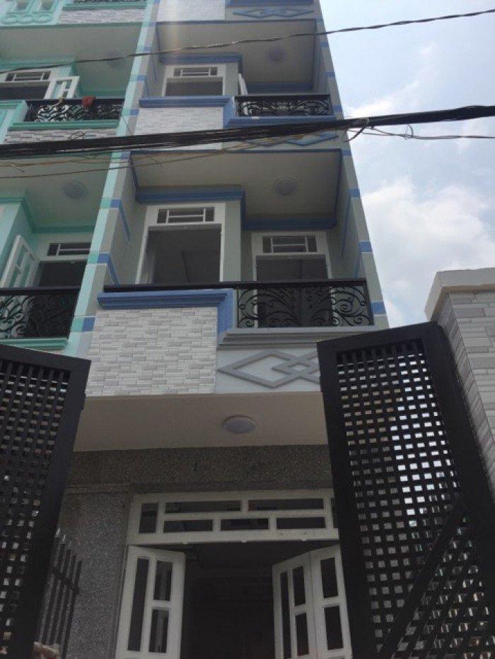 Bán nhà ngay ủy ban Bình Trị Đông B Bình Tân