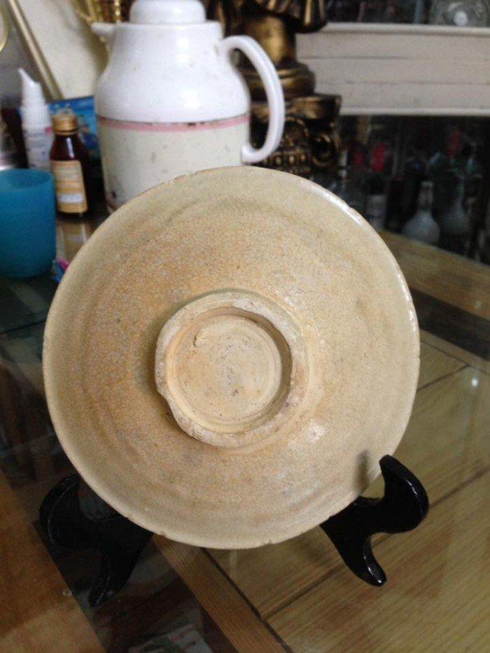 Đĩa sứ cổ Đường kính 13cm cao 2,5cm0