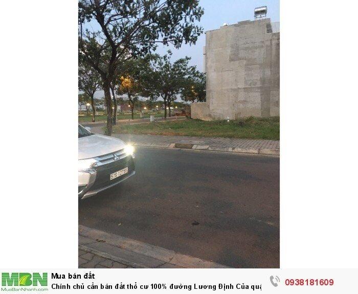 Chính chủ cần bán đất thổ cư 100% đường Lương Định Của quận 2, SHR thổ cư 100%