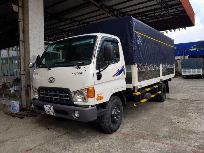 Xe tải 120sl thùng mui bạt 8 tấn thùng dài 6m3