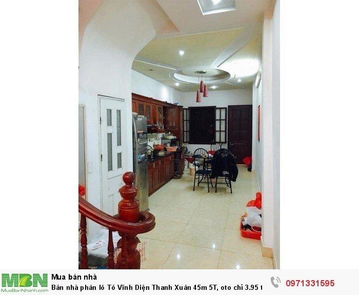 Bán nhà phân lô Tô Vĩnh Diện Thanh Xuân 45m 5T, oto chỉ 3.95 tỷ