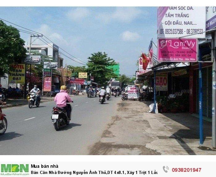 Bán Căn Nhà Đường Nguyễn Ảnh Thủ,DT 4x8.1, Xây 1 Trệt 1 Lầu,Nhà mới 100%,SHR