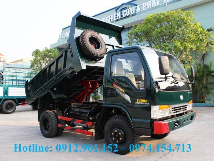 Mua bán xe ben Chiến Thắng 6T2/6.2 tấn 1 cầu 2 cầu có sẵn, hỗ trợ trả góp lãi suất thấp