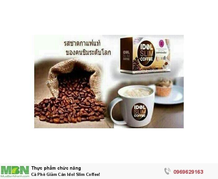 Cà Phê Giảm Cân Idol Slim Coffee!