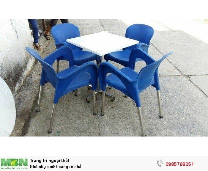 Ghế nhựa nữ hoàng rẻ nhất1