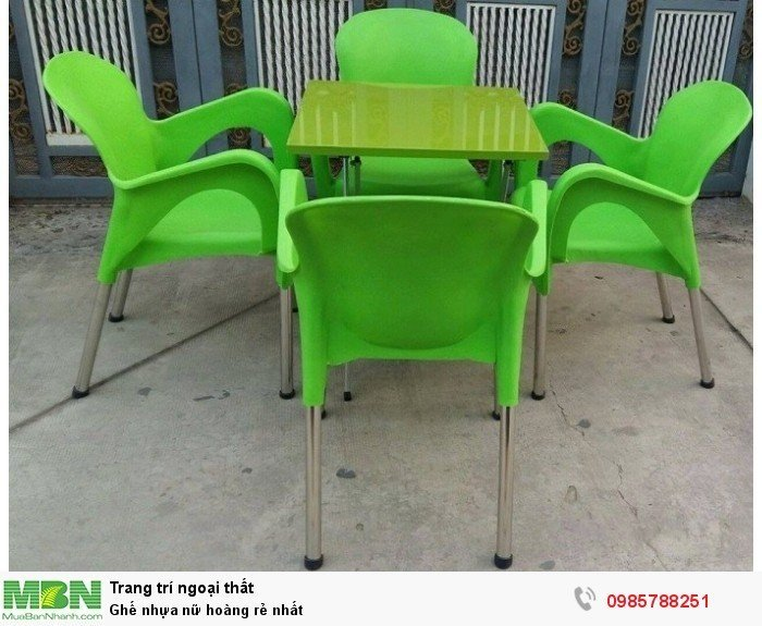 Ghế nhựa nữ hoàng rẻ nhất3