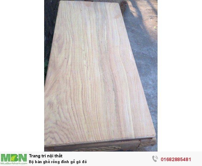 Bộ bàn ghế đồng kỵ rồng đỉnh gỗ gõ đỏ11