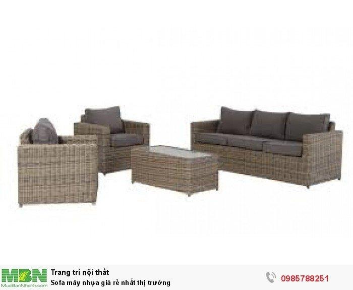 Sofa mây nhựa giá rẻ nhất thị trường1