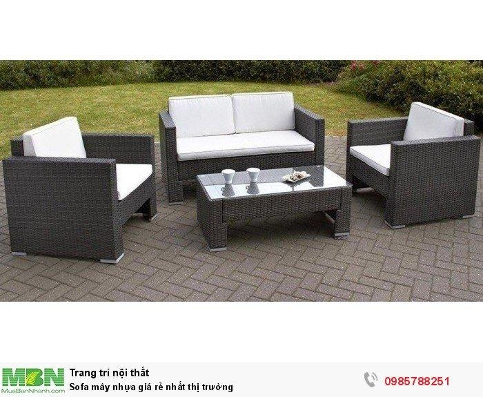 Sofa mây nhựa giá rẻ nhất thị trường3