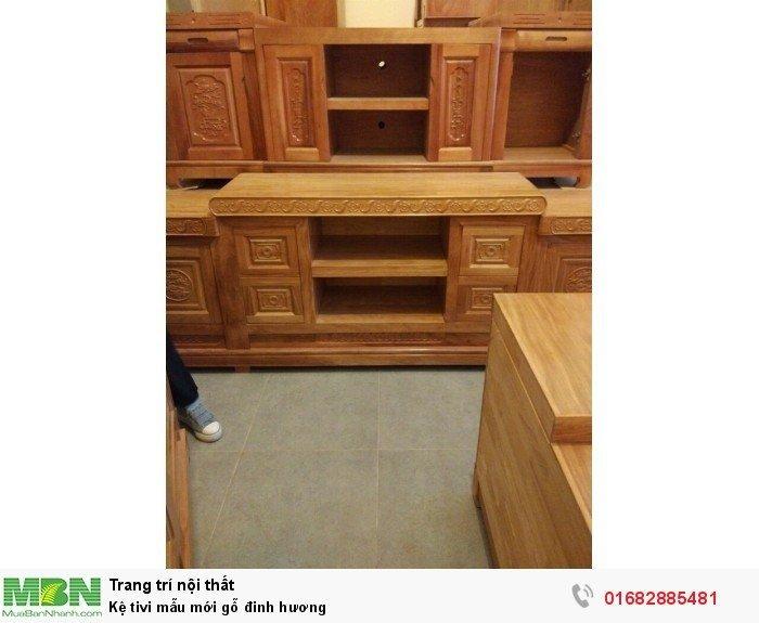 Kệ tivi mẫu mới gỗ đinh hương3