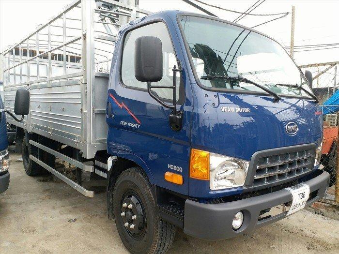 Xe tải 8 tấn Veam 8 tấn HD800 thùng mui bạt, giá tốt 0