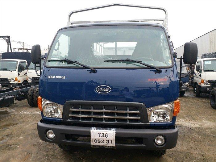 Xe tải 8 tấn Veam 8 tấn HD800 thùng mui bạt, giá tốt 2