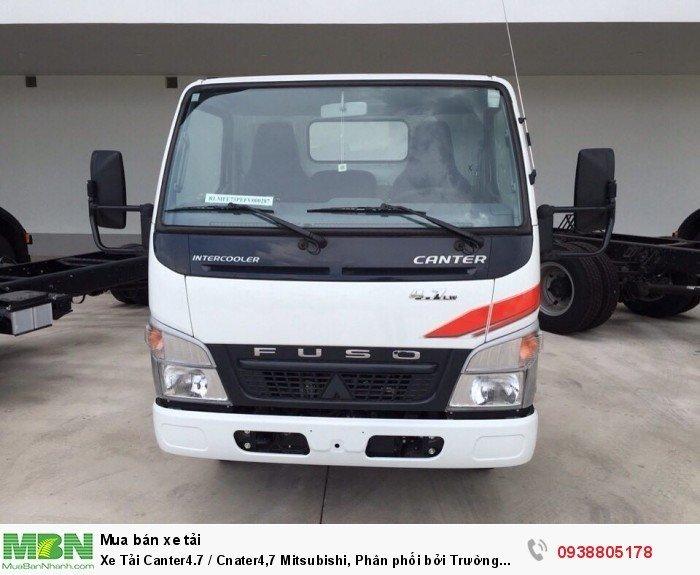 Xe Tải Canter4.7 / Cnater4,7 Mitsubishi, Phân phối bởi Trường Hải, bán trả góp, bản hành trên toàn quốc. 4
