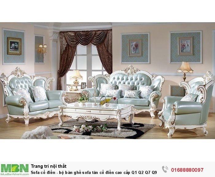 sofa cổ điển phong cách hoàng gia9