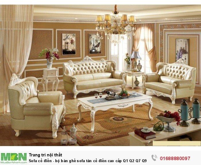 bộ bàn ghế phong cách cổ điển10