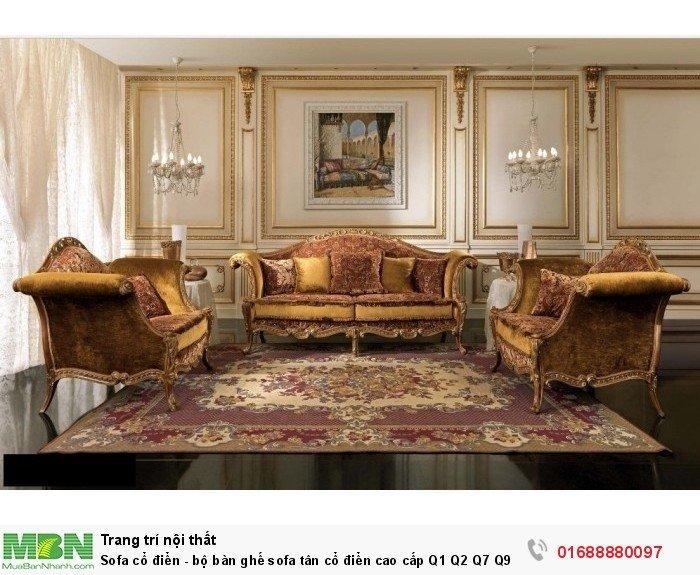 sofa gỗ cổ điển Vũng Tàu Bình Dương12