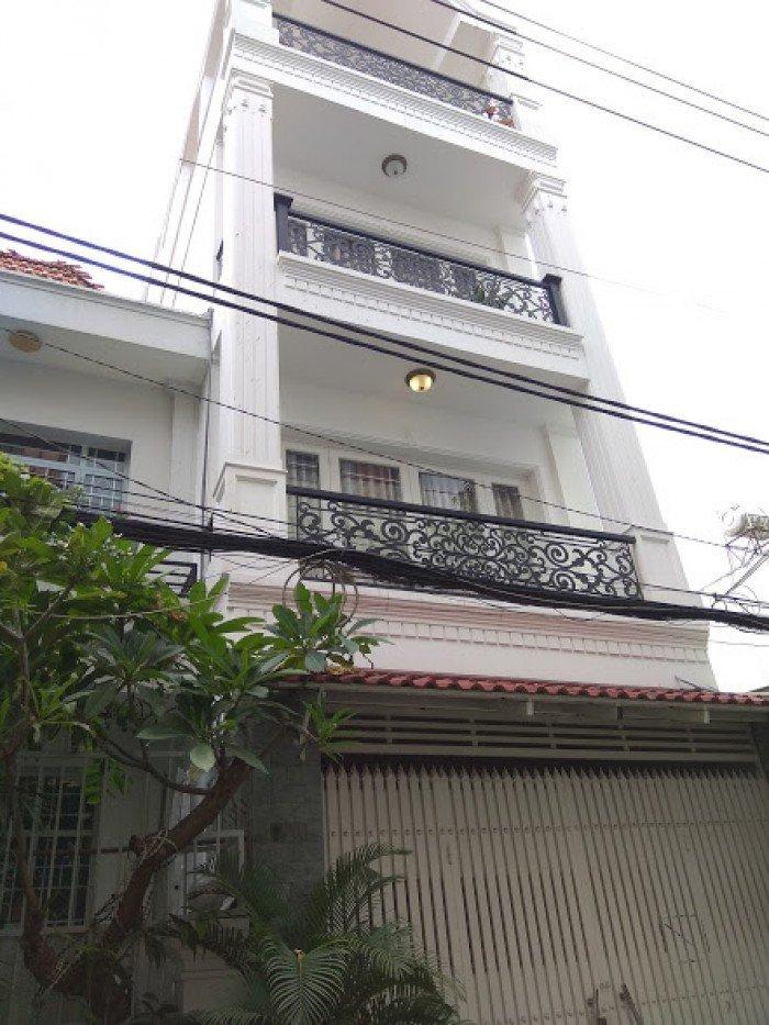 Nợ ngân hàng cần bán gấp nhà hẻm Lạc Long Quân 5x17m2 4 tầng cực hiếm.