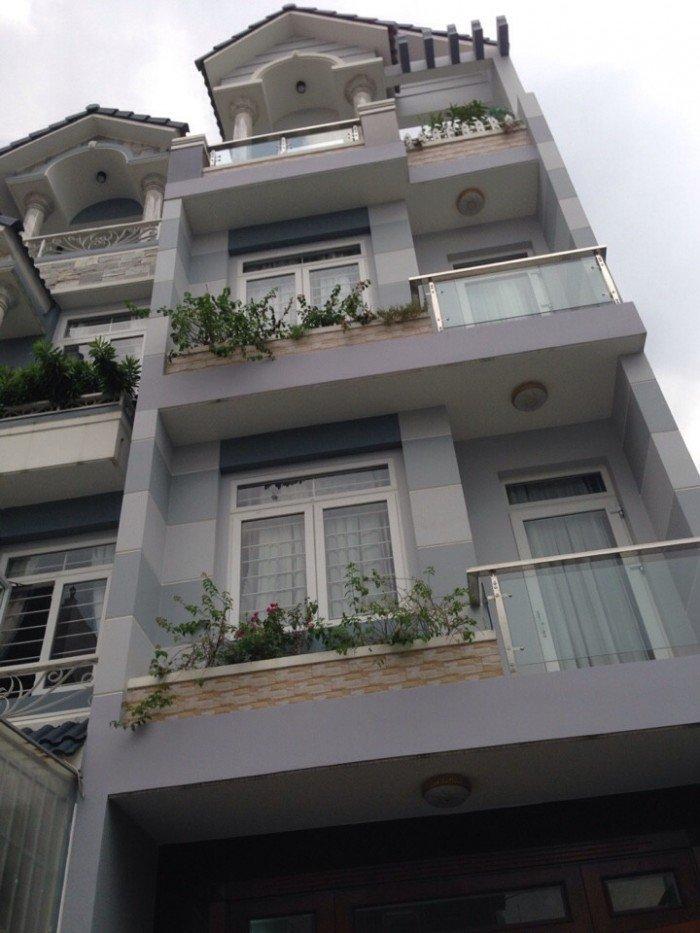 CẦN TIỀN - BÁN GẤP nhà MT Bình Phú, Q6, DT: 110m2, 1 trệt 3 lầu. DT: 110m2, 1 trệt 3 lầu