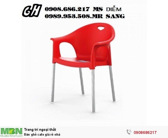 Bàn ghế cafe giá rẻ nhá1