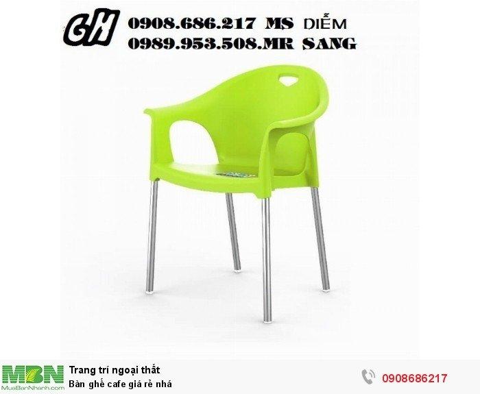 Bàn ghế cafe giá rẻ nhá2