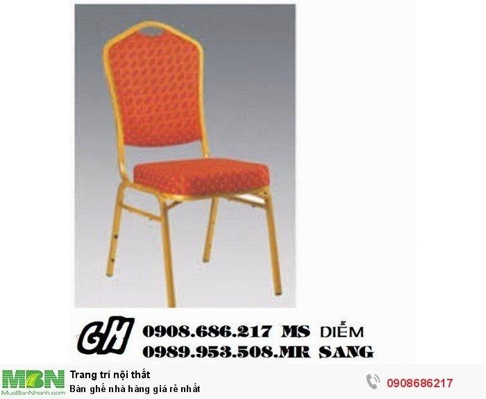 Bàn ghế nhà hàng giá rẻ nhất0