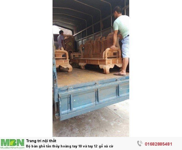 Bộ bàn ghế tần thủy hoàng gỗ xà cừ2