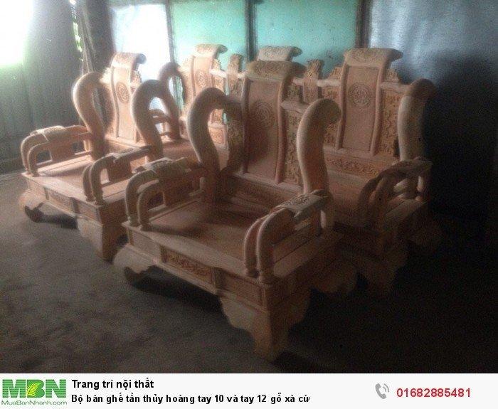 Bộ bàn ghế tần thủy hoàng gỗ xà cừ4